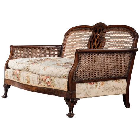 bergere sofa early 20th century mahogany framed bergere sofa for sale