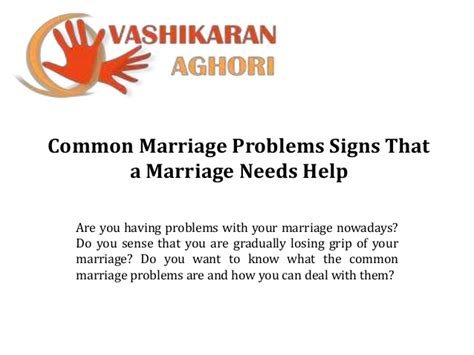 vashikaran aghori common marriage problems