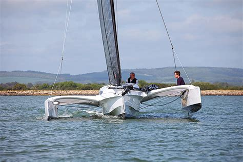 trimaran dragonfly 25 dragonfly 25 review and test sailing today