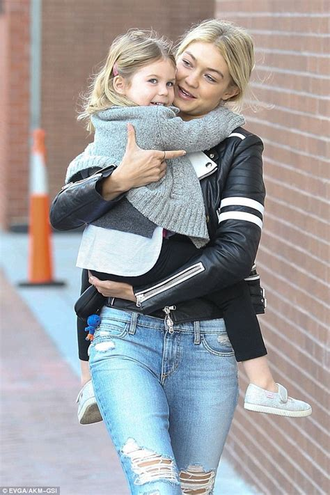 this baby photo of gigi hadid proves she was born to be a can you id gigi hadid s booties shoes post