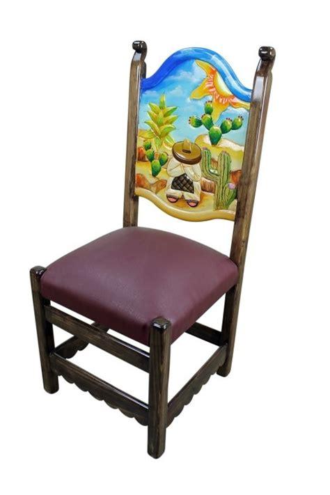 mexican painted chairs painted mexican furniture la casa de machado y