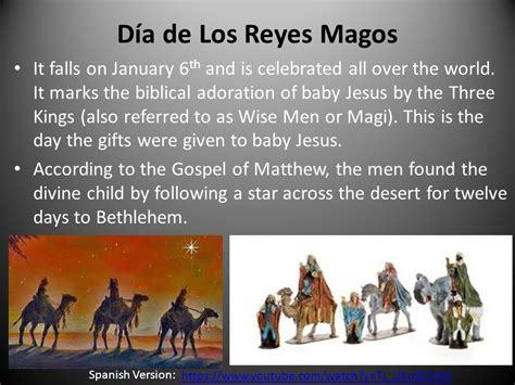 dias de reyes magos three kings day d 237 a de los reyes magos ppt video online download