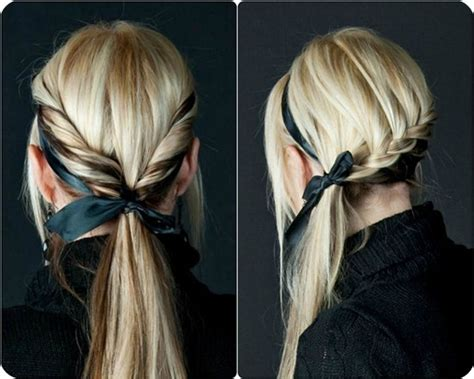 pics of weave styles tied back 7 easy and chic ponytail hairstyle for girls back to