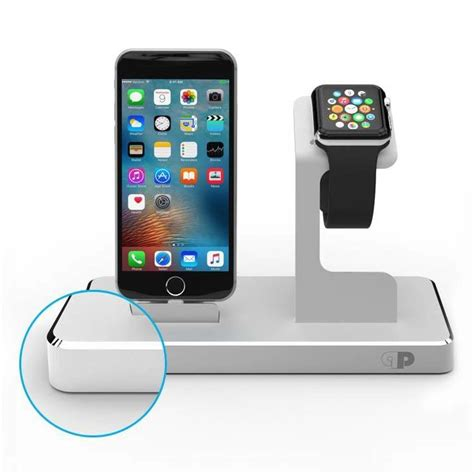 Nightstand With Charging Station by The One Dock Charging Station For Iphone Apple Watch And