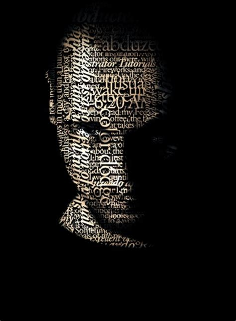 tutorial typography portrait how to create a stunning typographic portrait psdstation com