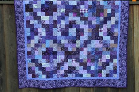 Purple Quilt by The Purple Quilt Goer Quilts