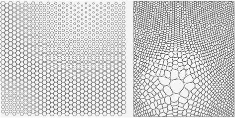 pattern grasshopper definition how to merge a hexagonal pattern with a voronoi pattern