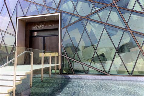 designboom khirki masjid hok clads community mosque in saudi arabia with perforated