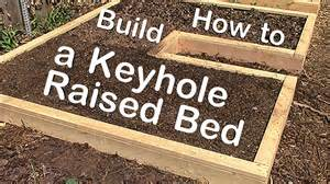 how to build a keyhole raised garden bed