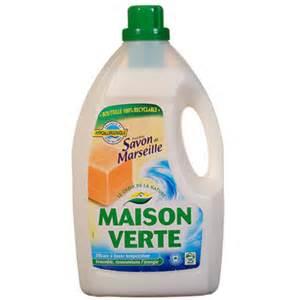 lessive liquide verte savon de marseille 3l tous