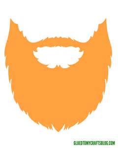puffy paint leprechaun beard kid craft w free printable