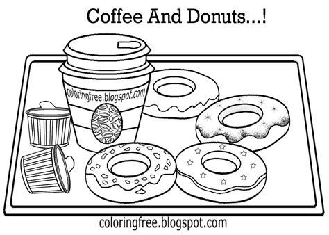 sprinkle donut coloring page kara jaynes kawaii donut coloring page coloring page donut