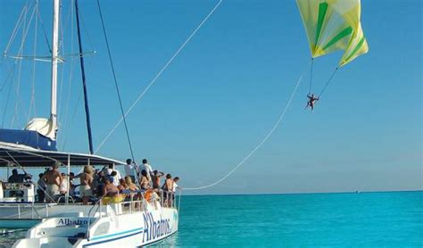catamaran isla mujeres albatros sail away to isla mujeres cancun tour departure