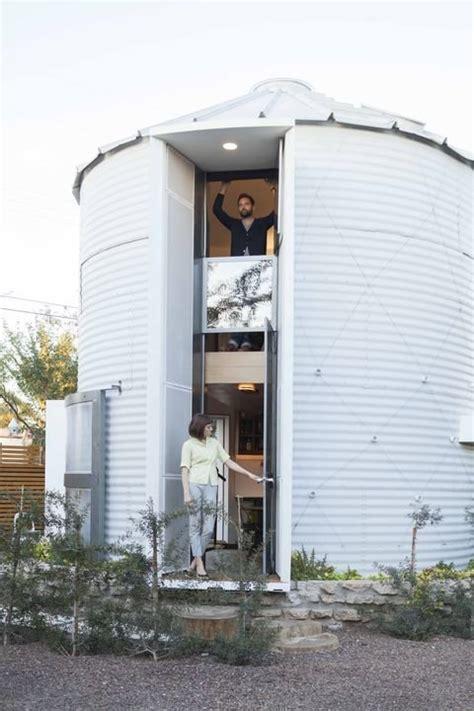 grain silo house 190 sq ft modern grain silo tiny house