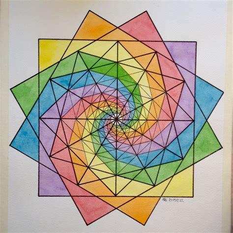 geometric pattern math regolo54 fractal fibonacci geometry symmetry pattern