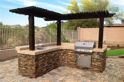 Outdoor Patio Grills by A Sensational Built In Grill Arizonaok A Bit