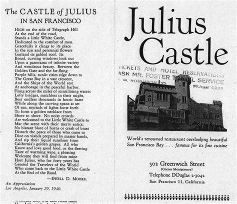 castle san francisco julius castle foundsf