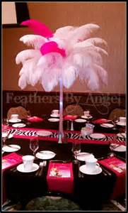 ostrich feathers centerpieces for rent feathers by rent ostrich feather centerpieces