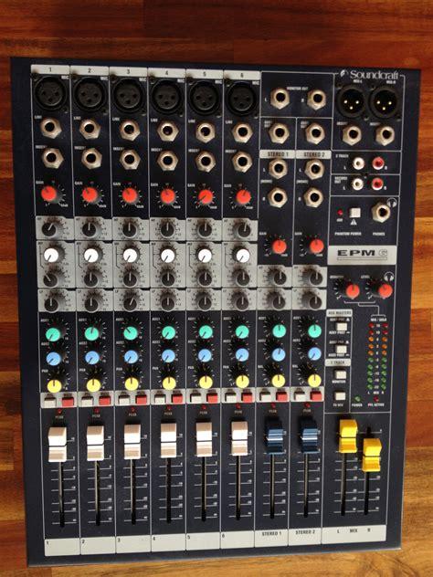 Soundcraft Epm 6 soundcraft epm6 image 389924 audiofanzine