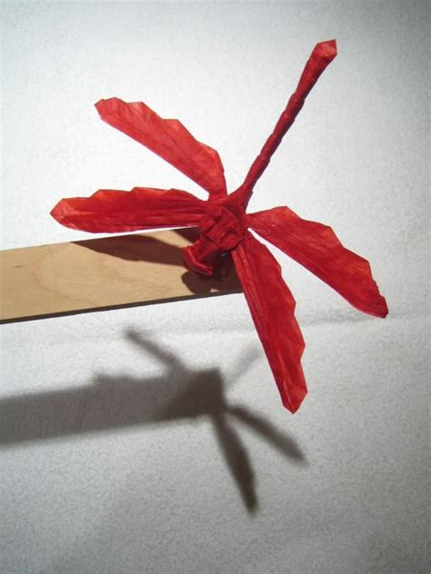 How To Make An Origami Dragonfly - how to make origami dragonfly