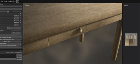 tutorial blender table texturing a table with blender and substance painter 2 4