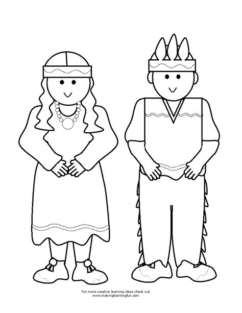 coloring page pilgrim girl activity village coloring pages activity village coloring