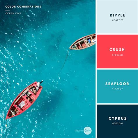 canva color palette ideas graphic design tutorials by canva