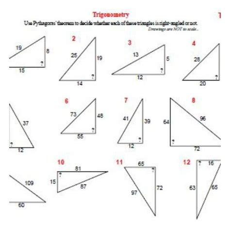 Trigonometry Worksheets by The World S Catalog Of Ideas