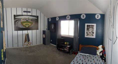 Yankees Bedroom Decor by Yankees Bedroom Baseball Bedrooms Bedrooms