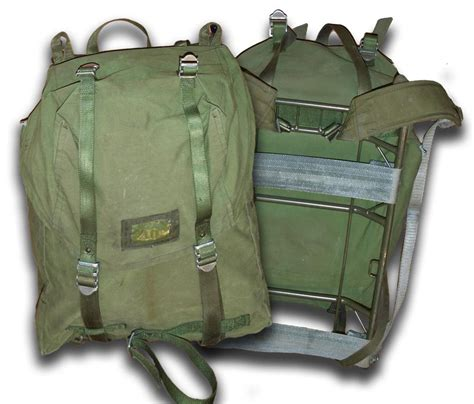 rucksack contents backpacks and vintage army bags forces