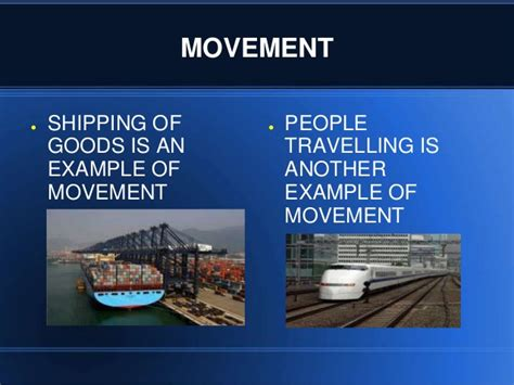 themes of geography movement exles the five themes of geography