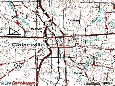 map of gainesville texas gainesville texas tx 76250 profile population maps real estate averages homes