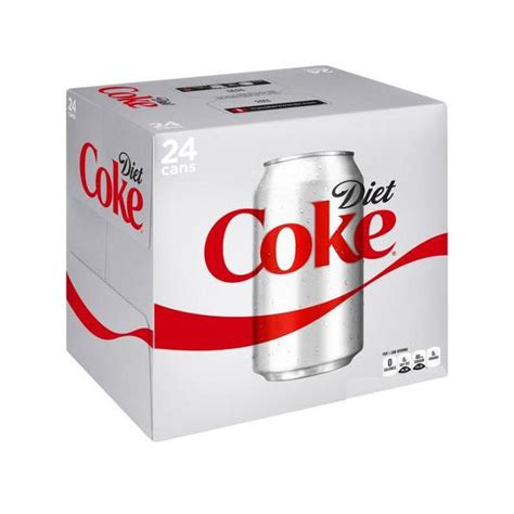 Coca Cola Diet Can 330ml diet coca cola soft drink 330ml can 24 pack 100224