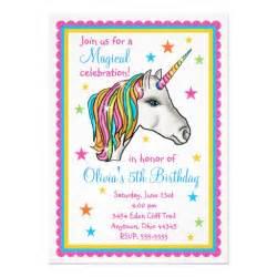 2 000 rainbow birthday invitations rainbow birthday