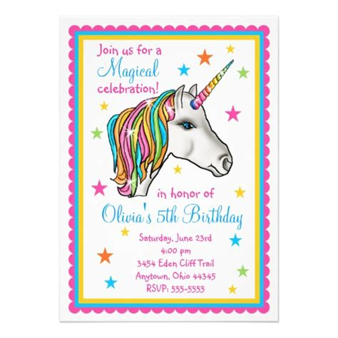 personalized birthday card templates free personalized mystical invitations custominvitations4u