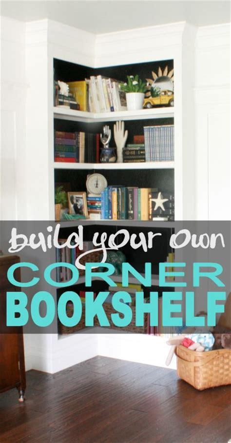 build your own corner bookshelves corner bookshelves
