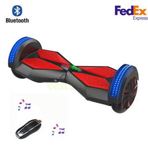 Hoverboard Smart Electric Scooter 2nd 8inch With Bluetooth Speaker self balancing scooter 2 wheel smart electric hoverboard bluetooth speaker led ebay