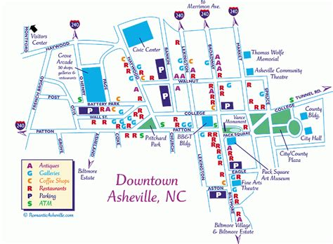 ashville nc map asheville downtown map cabin in asheville