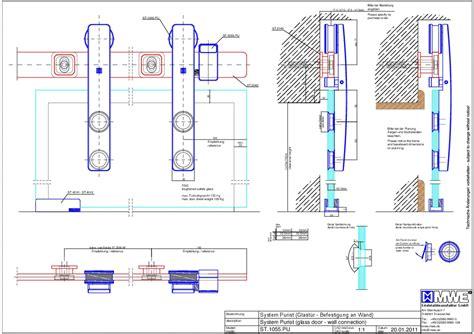 glass garage door dwg sliding glass door detail cad sliding door designs