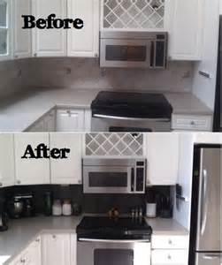 picture diy vinyl tiled backsplash tiles peel and stick wall paper sticker kitchen