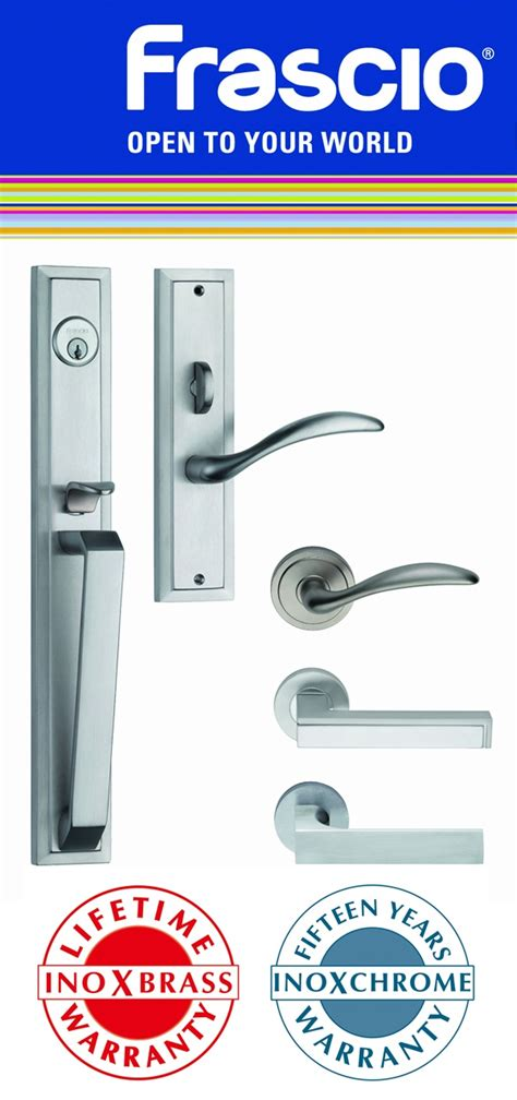 architectural ironmongery pty frascio italy brass door handles and hardware with lifetime warranty finishes 意大利现代设计