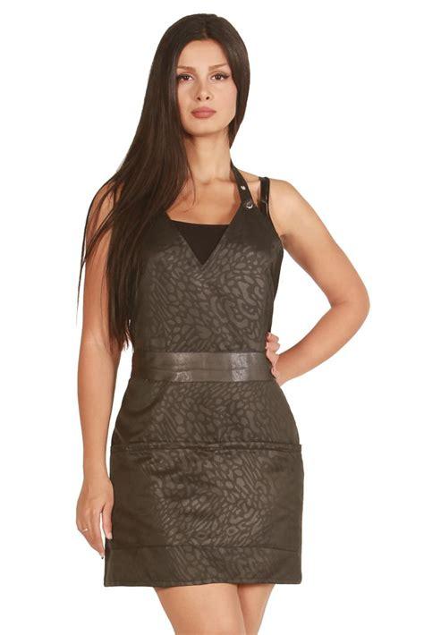 hairdresser capes trendy professional black leopard apron salon aprons capes