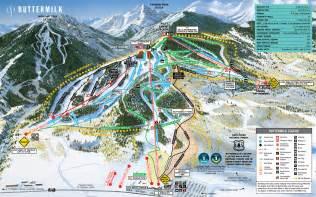 buttermilk ski area trail map aspen snowmass real estate