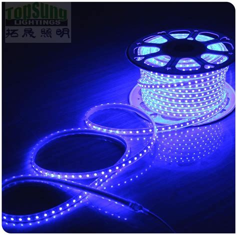 100m 230v ac led 5050 waterproof cuttable strips