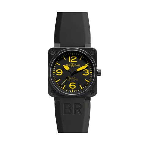 Jam Bell Ross Br01 92 bell and ross br01 92 limited edition yellow
