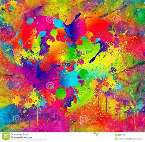 abstract pattern painting splattered paint abstract background resembling wet