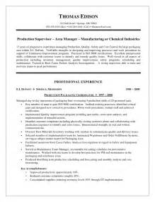 production worker resume sles manufacturing manager resume