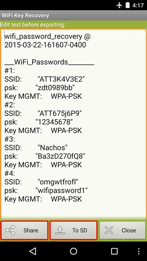 how to get wifi password from android how to see passwords for wi fi networks you ve connected your android device to 171 android gadget