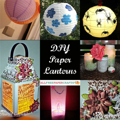 Paper Lantern Craft Ideas - how to make a paper lantern 9 diy paper lanterns