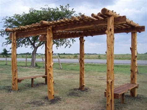 cedar post arbors woodworking projects plans